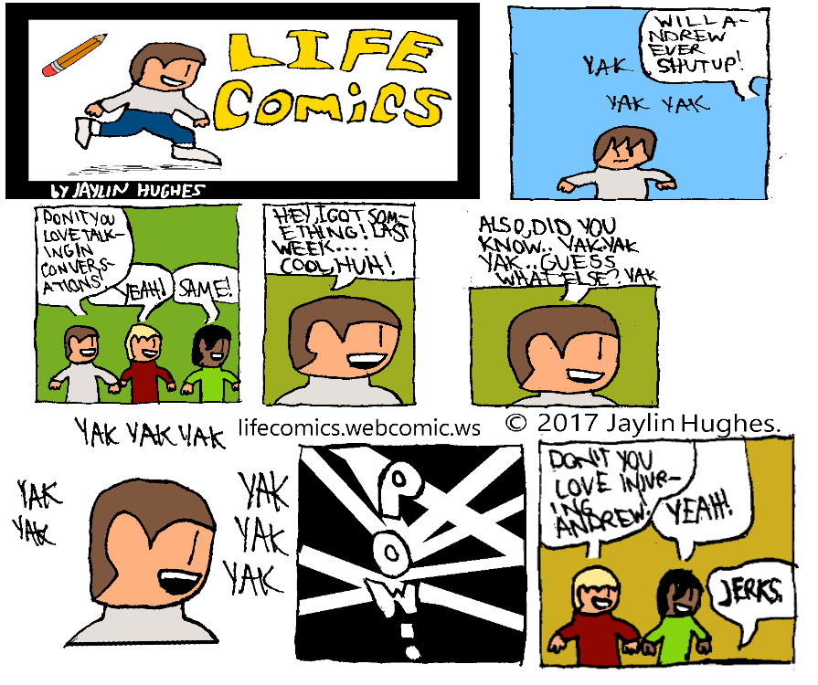 LIFE Comics for Apr 23, 2017