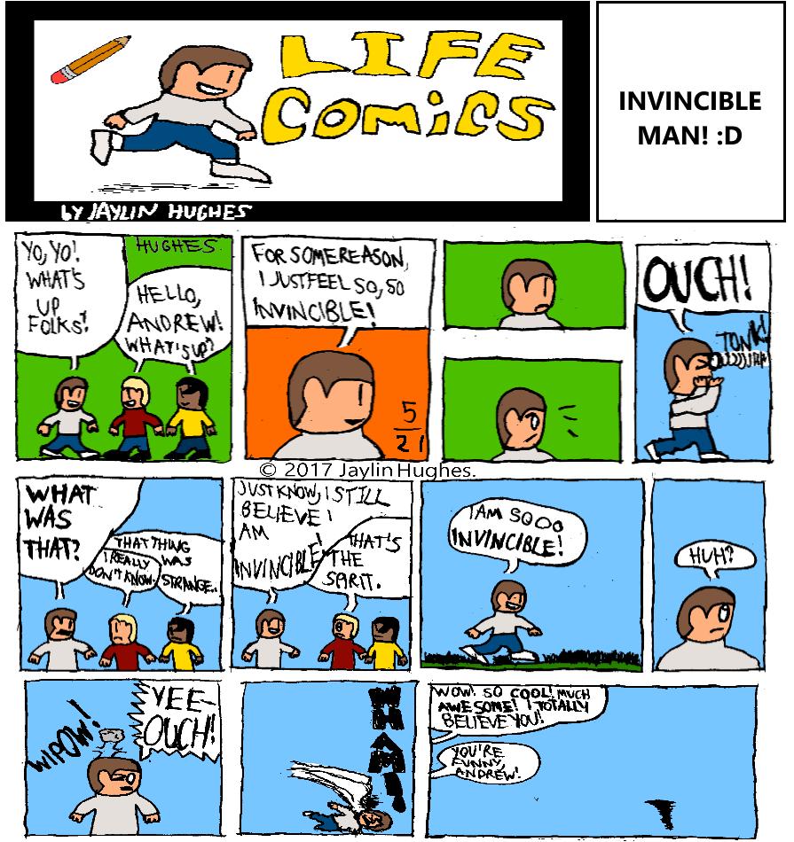 LIFE Comics for May 21, 2017